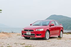 Mitsubishi Lancer 1.8 Sport Sedan Stock Photography