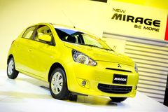 Mitsubishi Mirage Royalty Free Stock Photo