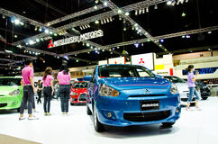 Mitsubishi Mirage car Stock Photography