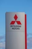 Mitsubishi Motors Brand Logo Royalty Free Stock Image