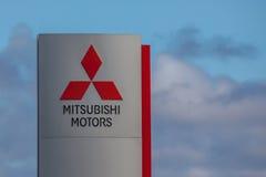 Mitsubishi Motors Brand Logo Stock Photo