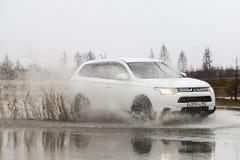 Mitsubishi Outlander Royalty Free Stock Photos