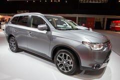 Mitsubishi Outlander PHEV Stock Photo