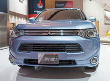 Mitsubishi Outlander Phev in the CIAS Royalty Free Stock Photos