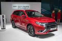 Mitsubishi Outlander PHEV - European premiere Stock Image