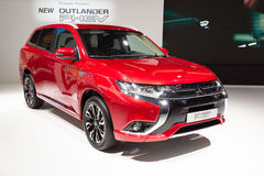 2016 Mitsubishi Outlander PHEV Royalty Free Stock Photo