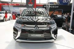 Mitsubishi på den Belgrade Car Show Royaltyfria Bilder