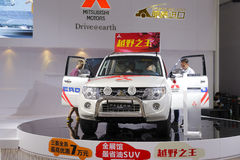 Mitsubishi pajero car Royalty Free Stock Images