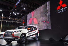 Mitsubishi pajero sport 2017 Fotografia Stock