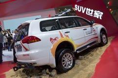Mitsubishi Pajero Sport SUV Stock Image