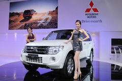 Mitsubishi pajero Suv Royalty Free Stock Photography
