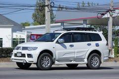 Mitsubishi Pajero Suv samochód Obrazy Royalty Free