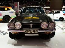 Mitsubishi rally origins Geneva 2014 Stock Image