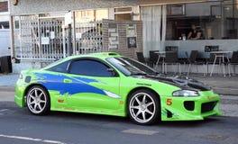 Mitsubishi sports race car Stock Photo