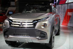 Mitsubishi SUV 2015 royalty free stock photography