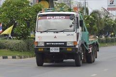 MITSUBISHI Trailer truck Stock Images