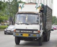 MITSUBISHI Trailer truck Royalty Free Stock Images
