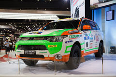Mitsubishi Triton Outlander 4WD PHEV on display Royalty Free Stock Photo