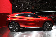 Mitsubishi 4X4 at Paris Motor Show - Oct 2014 Royalty Free Stock Photography