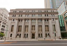 Mitsui bank- och förtroendebyggnad i Tokyo, Japan Royaltyfria Foton