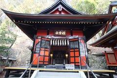 Mitsumine寺庙在埼玉,日本 免版税图库摄影