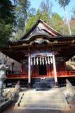 Mitsumine shrine in Saitama, Japan. Historical shinto shrine built in 745 royalty free stock images