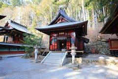 Mitsumine shrine in Saitama, Japan. Historical shinto shrine built in 745 royalty free stock photography