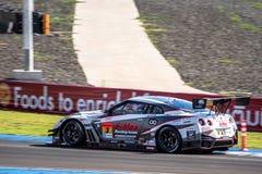 Mitsunori Takaboshi of NDDP RACING in GT300 Qualiflying Category Stock Images