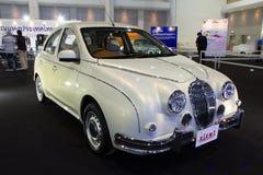 Mitsuoka mening-t, Uitstekende ontwerpauto op de Internationale Motor Expo van Thailand Stock Afbeelding