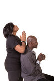 Mitt åldrats be för par royaltyfri foto
