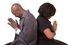 Mitt åldrats be för par fotografering för bildbyråer