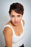 Mitt - östlig modekvinna Fotografering för Bildbyråer