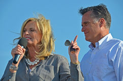 Mitt and Ann Romney Royalty Free Stock Image