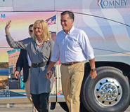 Mitt and Ann Romney Stock Photos