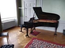 Mitt av musik av lucern, Schweiz arkivfoto