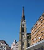 Mitt av Novi Sad Arkivbild