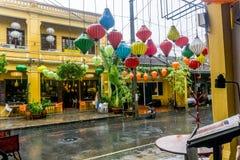 Mitt av staden i Hoi An, Vietnam fotografering för bildbyråer
