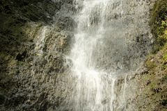 Mitt av vattenfallet Royaltyfria Bilder