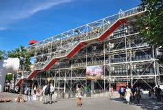Mitt de Pompidou Fotografering för Bildbyråer