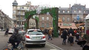 mitt de Strasbourg Arkivfoto
