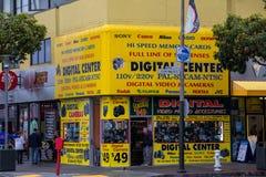 Mitt för Digital kamera, San Francisco Arkivbilder