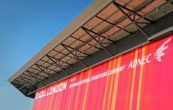 Mitt för Excellondon utställning Arkivfoton