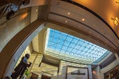 Mitt för Förenta staternaKapitoliumbesökare, Washington DC, USA arkivfoto
