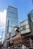 Mitt för internationell finans i Chengdu, Kina Royaltyfri Fotografi