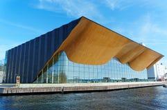 Mitt för norrmanKilden föreställningskonst Arkivbilder