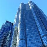 Mitt för skyskrapaCalgary stad Royaltyfri Fotografi