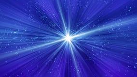Mitt för strålar för stjärnasolsunburst vektor illustrationer