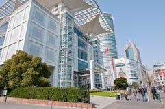 Mitt för utställning Shanghai för stads- planläggning Royaltyfria Bilder