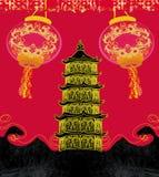 Mitt--höst festival för kinesiskt nytt år Arkivfoton
