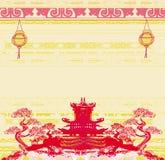 Mitt--höst festival för kinesiskt nytt år Royaltyfri Bild